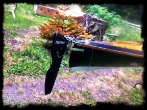 Installation of a new Smart Track Rudder system on my Pygmy Coho.